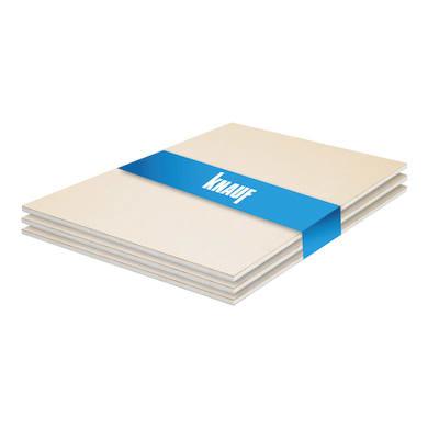 Lastra cartongesso KNAUF ignifuga 3 pz 120 x 100 cm, Sp 12.5 mm