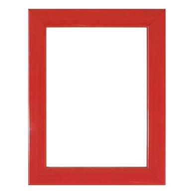 Cornice INSPIRE Bomber rosso per foto da 70x100 cm