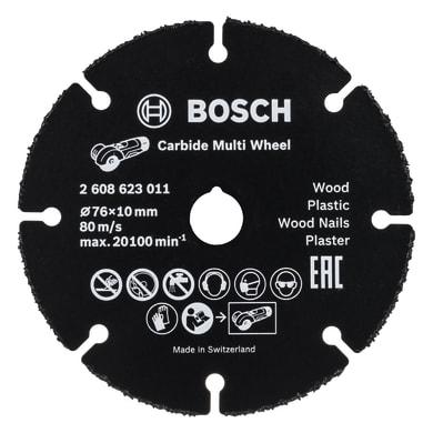 Disco in acciaio BOSCH per multiuso Ø 76 mm