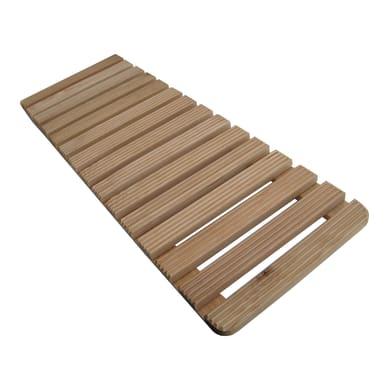 Pedana in legno larice naturale 86 x 31 cm