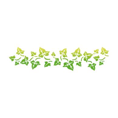 Stencil tema frutti e fiori LES DECORATIVES Edera N.45 40.0 x 0.1 cm