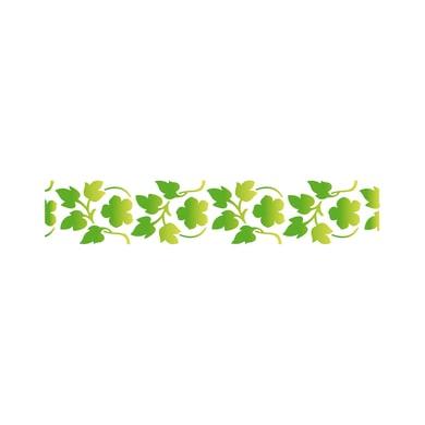Stencil tema frutti e fiori LES DECORATIVES Primavera 40.0 x 0.1 cm