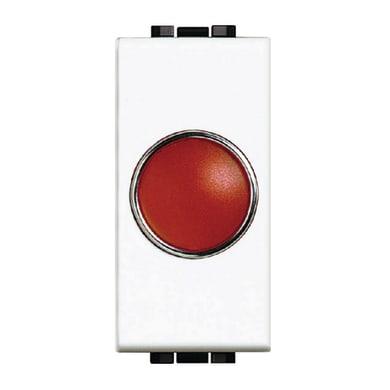 Spia BTICINO Living light rossa