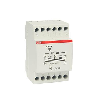 Trasformatore ABB ELTM 30-12/24 - per suonerie 3 moduli 230V IP20 10 mm²