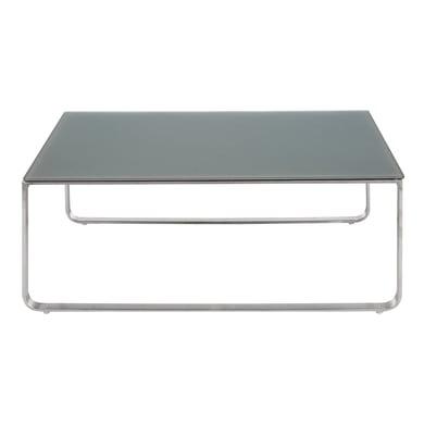 Tavolino da giardino rettangolare London in acciaio L 42 x P 103 cm
