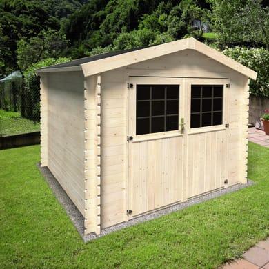 Casetta da giardino in legno Primula 5.9 m² spessore 28 mm