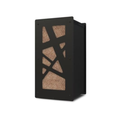 Griglia porta legna GRANULEBOX MINI ARCHI 30KG in acciaio
