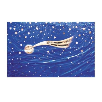 Carta cielo stellato con stella cometa
