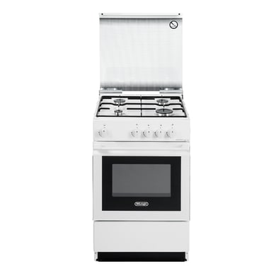 Cucina freestanding manuale con manopole DE LONGHI SGW 554GB N