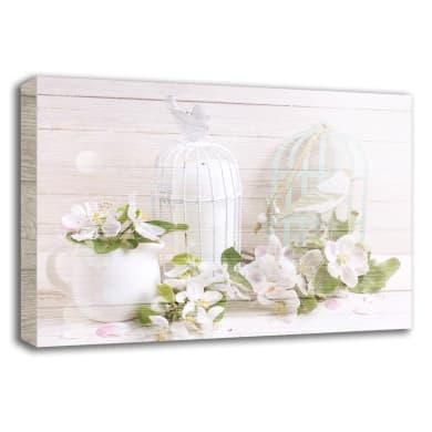 Quadro in legno Flower Arrangement 35x50 cm