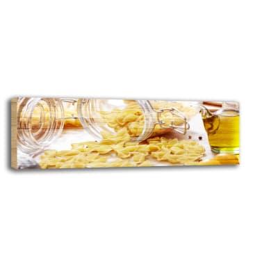 Quadro in legno Pasta 90x30 cm