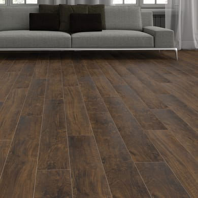 Pavimento laminato Bomate Sp 8 mm marrone
