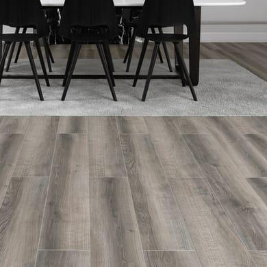 Pavimento laminato Howick Sp 12 mm grigio / argento