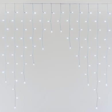 Tenda luminosa 300 lampadine led bianco freddo H 16 x L 450 cm