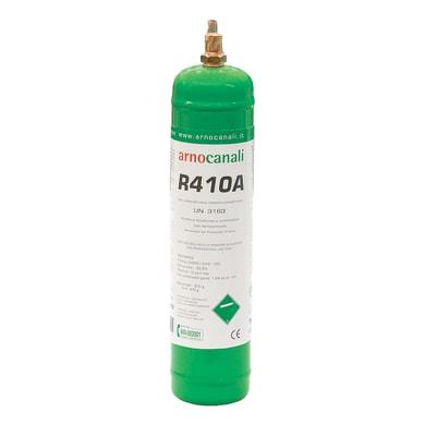 Bombola gas refrigerante climatizzatore R410A 1 L 0.8 kg