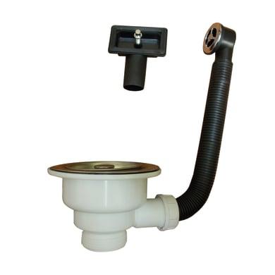 Piletta standard in polipropilene EQUATION per lavabo Ø 50 mm