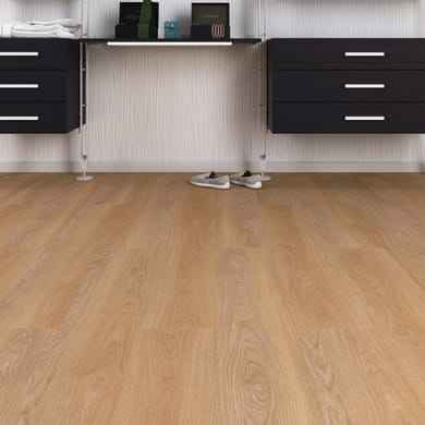 Pavimento laminato Klawer Sp 7 mm marrone