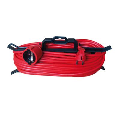Prolunga per uso domestico 3 fili, 1,5 mm², Schuko, Schuko, LEXMAN