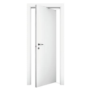 Porta rototraslante City bianco L 70 x H 210 cm destra