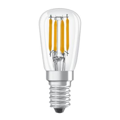 Lampadina LED, E14, Bulbo, Trasparente, Luce fredda, 2.8W=250LM (equiv 20 W), 320° , OSRAM