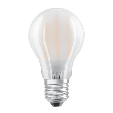 Lampadina LED filamento, E27, Goccia, Opaco, Luce naturale, 8.5W=1055LM (equiv 75 W), 320° , OSRAM