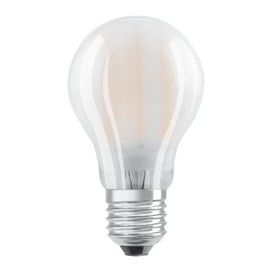 Lampadina LED filamento, E27, Goccia, Opaco, Luce naturale, 5W=470LM (equiv 40 W), 320° , OSRAM