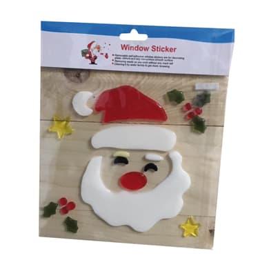 Sticker Babbo Natale 20x20 cm