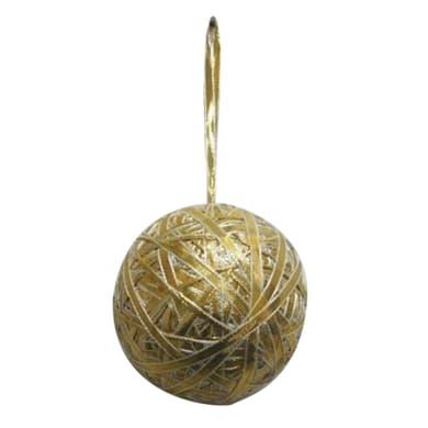 Sfera natalizia dorata Ø 10 cm