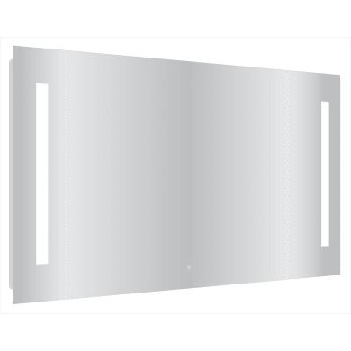 Specchio con illuminazione integrata bagno rettangolare Easy L 120 x H 70 cm SENSEA