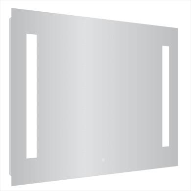 Specchio con illuminazione integrata bagno rettangolare Easy L 105 x H 70 cm SENSEA