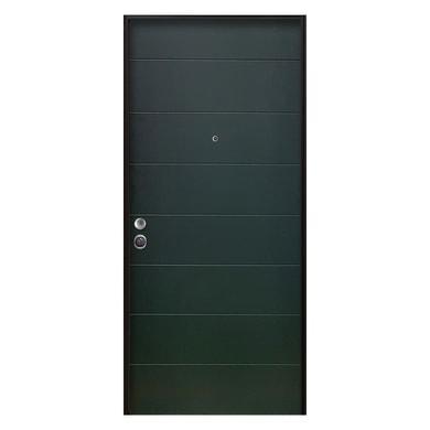 Porta blindata Clover verde L 90 x H 210 cm destra