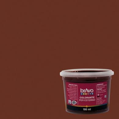 Colorante liquido universale per esterni 100 ml marrone ossido