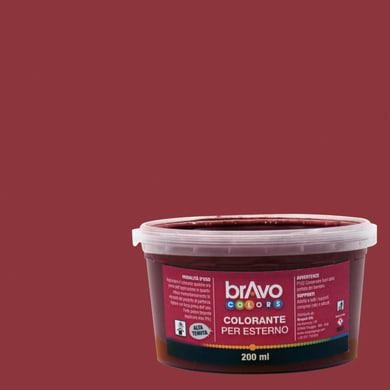 Colorante liquido universale per esterni 200 ml rosso ossido