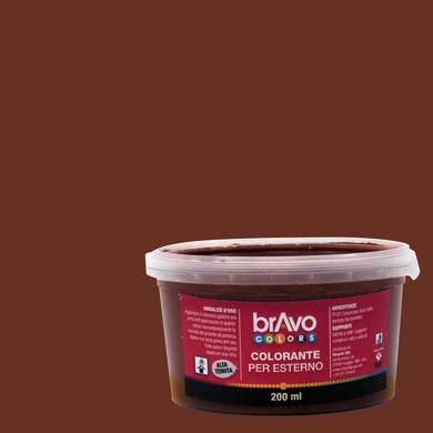 Colorante liquido universale per esterni 200 ml marrone ossido