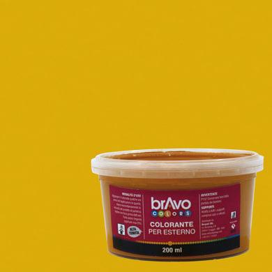 Colorante liquido universale per esterni 200 ml giallo ossido