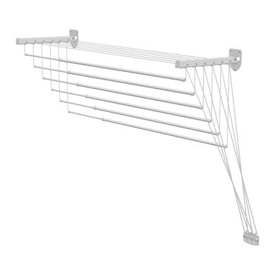 Stendibiancheria per soffitto o muro L 10 cm bianco