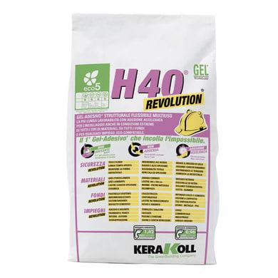 Colla in polvere H40 Revolution KERAKOLL 5 kg grigio