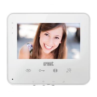 Videocitofono con filo a parete URMET Soft Touch 1734/1