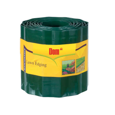Bordura in rotolo in plastica Ondadeco' L 1000 x H 16.5 cm Sp 0.1 cm