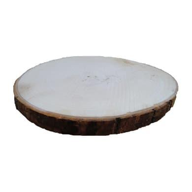 Rondella tondo in castagno grezzo 10 mm Ø 120/180 mm
