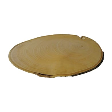 Rondella tondo in castagno grezzo 10 mm Ø 150/200 mm