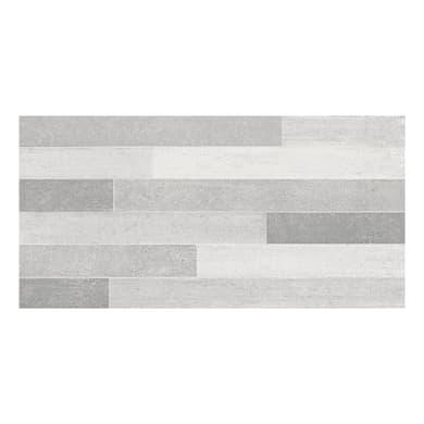 Piastrella per rivestimenti Emotion Mix L 26 x H 52.2 cm grigio