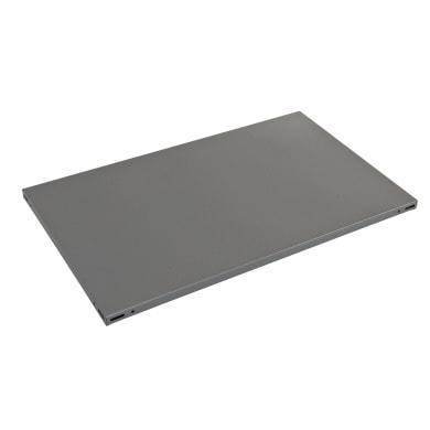 Ripiano L 60 x H 3 x P 50 cm grigio