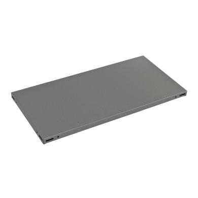 Ripiano in metallo L 70 x H 3 x P 40 cm grigio