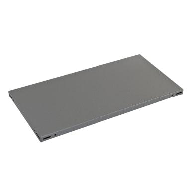 Ripiano in metallo L 100 x H 3 x P 60 cm grigio