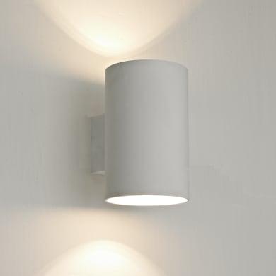 Applique design Leto LED integrato bianco, in metallo,  D. 12.7 cm 2 luci INSPIRE