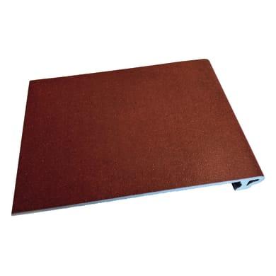 Torello Bismantova H 4.5 x L 26 cm rosso