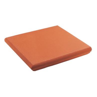 Angolo Cotto H 35 x L 35 cm rosso