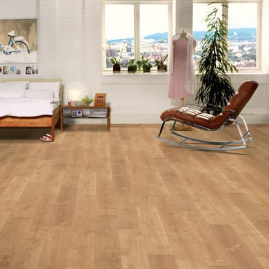 Pavimento laminato Duduza Sp 8 mm marrone