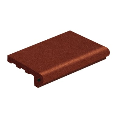 Gradino Bismantova H 4 x L 26 cm rosso